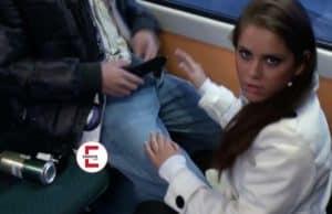 Beim Sex in der Straßenbahn erwischt