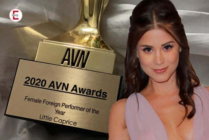 Sexy import from the Czech Republic: Little Caprice wins AVN Awards