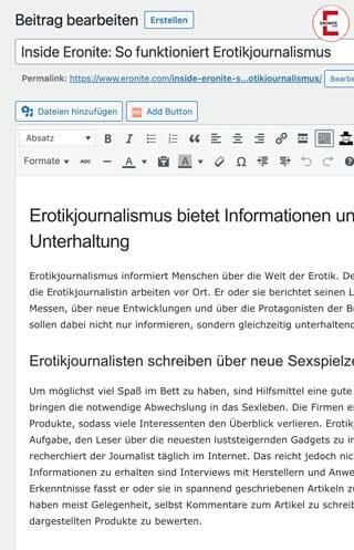 Inside Eronite: So funktioniert Erotikjournalismus