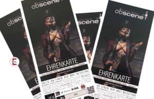 Raffle: 4 x 1 free ticket for the fetish fair obscene 2020