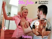 As a fanboy with Mia Julia porn shot