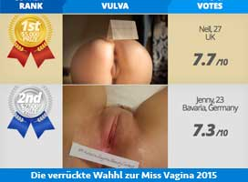 Miss Vagina – the most beautiful pussy in the world