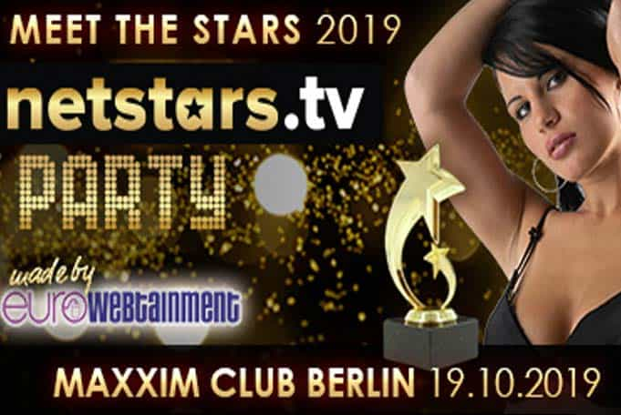 The Netstars.tv Party 2019 takes place in the fashionable Maxxim Club