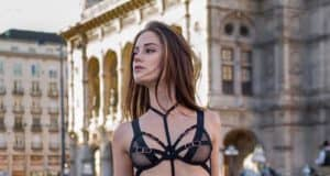 Pornstar Little Caprice – Photoshoot in the middle of Vienna