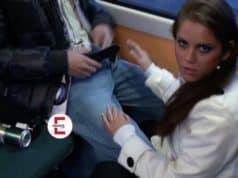 Caught having sex in the tram